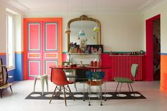 The Paris apartment of the Indian fashion designer Manish Arora is as colourful and exciting as his flamboyant designs. Located on the Canal...