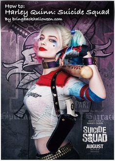 A great how-to, dyi article on creating a Harley Quinn costume.