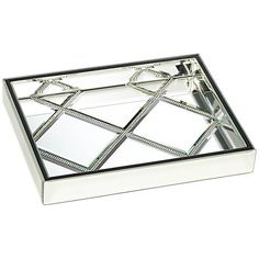 Decorative Mirror Tray Fascinating Alexis Silver Mirror Vanity Tray  Vanity Tray Mirror Vanity And Design Inspiration