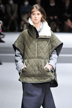 Ujoh - RTW - Fall 2015 - Runway Fashion Show | TheImpression.com// parka