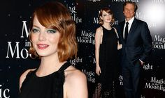 Emma Stone brings vintage glamour to Magic In The Moonlight premiere.