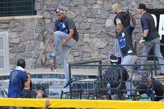 Dodgers Celebrate NL West Title