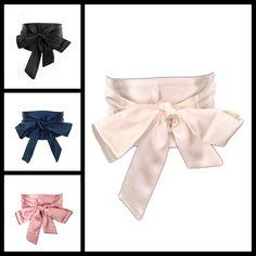 New Woman Belt Black 13cm Wide Satin Sash Wrap Tie Belts for Women Lady Cummerbund Fashion Wedding girdle 4 colors bg-009 #Affiliate
