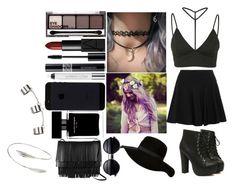 """""""Sem título #43"""" by style-and-beauty ❤ liked on Polyvore featuring beauty, Oh My Love, DKNY, H&M, NARS Cosmetics, Narciso Rodriguez, Proenza Schouler, Christian Dior, Urban Decay and Topshop"""