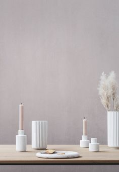 A round-up of things that have caught my eye this month - new designs, new product launches, new reads, new openings and more... Nordic Design, Scandinavian Design, Modern Candle Holders, Interior Architecture, Interior Design, Fourth Wall, Beautiful Textures, Simple Shapes, Danish Design