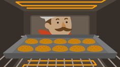 The Science Of Baking Cookies. So cool!
