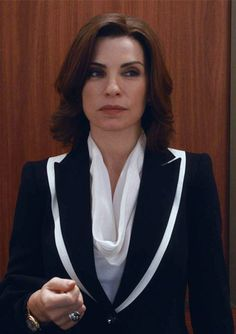 The Good Wife Season 5 Outfits, Explained by Costume Designer Daniel Lawson - Season 5, Episode 7: Escada Jacket from #InStyle