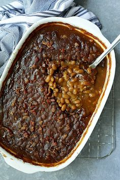 Baked Beans In Oven, Canned Baked Beans, Baked Bean Recipes, Beef Recipes, Cooking Recipes, Potato Recipes, Soup Recipes, Vegetarian Baked Beans, Bbq Beans
