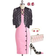 """""""This Jacket"""" by maggie-johnston on Polyvore"""