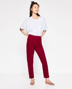 MOM-FIT TROUSERS - Available in more colours
