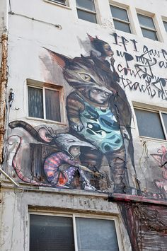 Cat & Mouse, Herakut, Tel Aviv
