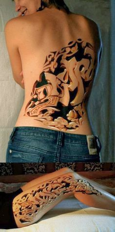 Wooden+carvings+ D+tattoo