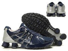 new product 0c635 d946f Nike Shox Agent Mens Blue Black  66.00 to: www.shoxr4shoestoyou.com Nike  Shox
