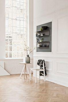 INSPIRATION: HERRINGBONE & CHEVRON WOODEN FLOORS | THE STYLE FILES