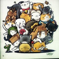Katamari VS Cats