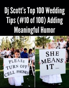 (AskDJScott.com) 360-367-6863 (Wedding & Event Dj / Emcee / Trivia Game Show Host) Dj Scott's Top 100 Fun Wedding Tips. The rest of them are located on my Facebook wall