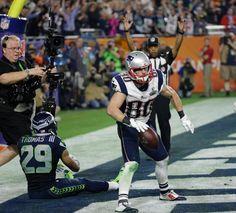 Danny Amendola.  Patriots vs. Seahawks: Super Bowl XLIX The New England Patriots take on the Seattle Seahawks in Super Bowl XLIX at University of Phoenix Stadium on Sunday, February 1, 2015.
