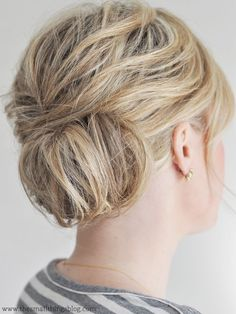 "This is one of those hairstyles that doesn't look nearly as polished and put together until the very, very end. As you are styling, you may think to yourself, ""Oh man. This is a disaste…"