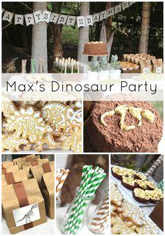 Max's Dinosaur Birthday Party via Tamsyn of Max & Me