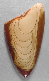 Silverhawk's designer gemstones. Bruneau jasper cab