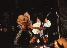 Prince & Wendy performing at Bogart's, 1984: