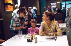 Jennifer Garner and director Patricia Riggen on the set of Miracles From Heaven
