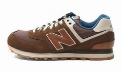 Joes New Balance ML574CAB Retro Running Sneakers Lovers Suede Grey Brown Mens  Shoes