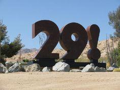 29 palms california | Twentynine Palms, CA: 29! Sculpture by Chuck Caplinger and Moe ...