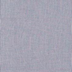 Baumwollvoile, Blau mit Streifen