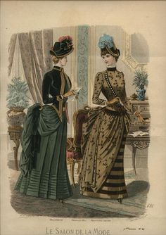 Le Salon de la Mode 1884