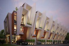 Townhouse by Buensalido Architects ~ DesignDaily Network
