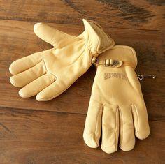 marker - deerkskin work gloves
