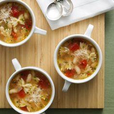 Italian Pasta & Bean Soup Recipe
