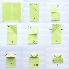 origami-frog-how-to-fold-make-simple-kids-jumping-bouncing-1.jpg (650×650)