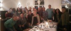 Genoten van een heerlijk drie gangen diner bij Café-Restaurant Soif i.c.m. een hilarische Pubquiz, oftewel een geslaagde middag/avond voor het personeel van het UWV Hoofdkantoor! Een teamuitje of personeelsuitje laten verzorgen als afsluiter van het jaar 2015? Kijk voor meer info op www.thepubquiz.nl of reserveer via info@thepubquiz.nl #teambuilding
