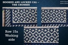 Row non-working side The Row, Crochet, Free, Crochet Crop Top, Chrochet, Knitting, Haken, Quilts, Hand Crochet