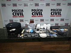 #News  Grupo é preso com drogas, arma, munições e dinheiro em Ituiutaba