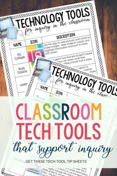 Classroom Tech Tools That Support Inquiry - Madly Learning