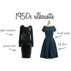 Great breakdown of vintage silhouettes and how to find them in current clothes.