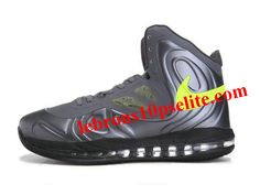 hot sales 4537f 943fb Nike Air Max Hyperposite Stoudemire Shoes SilverBlack Penny Hardaway  Sneakers, Kobe Shoes,