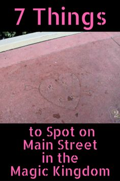 Walt Disney World has lots of small touches that can go unnoticed unless you are specifically looking for them. Here are 7 things to spot on Main Street in the Magic Kingdom.How many of these have you spotted?