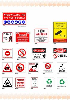 WARNING SIGNS Warning Signs, Circuit, Crime, Safety, Activities, Security Guard, Crime Comics, Fracture Mechanics