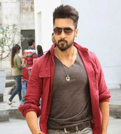 Top Style Surya Police Haircut - The assumption that taking care of yourself is only done by women and men who have already begun to ch. Handsome Celebrities, Handsome Actors, Indian Celebrities, Famous Celebrities, Handsome Boys, Celebs, Military Fade Haircut, Allu Arjun Hairstyle, Surya Actor