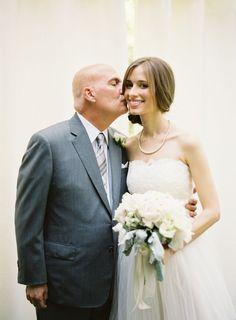 father & bride photo