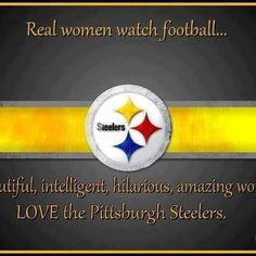 Real Women Steelers #steelernation #steelers