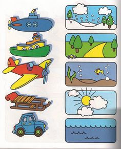 This page has a lot of free printable Transportation worksheet for kids,parents and preschool teachers. Preschool Learning Activities, Preschool Worksheets, Toddler Preschool, Preschool Activities, Teaching Kids, Toddler Worksheets, Alphabet Worksheets, Teaching Spanish, Printable Worksheets