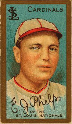 Ed Phelps, pitcher, St. Louis Cardinals, 1911