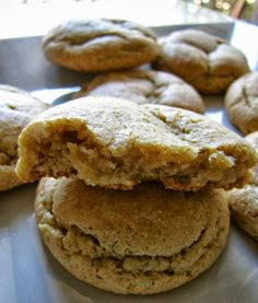 Off The Menu: What's For Dessert: Awesomely Chewy Peanut Butter Cookies
