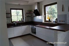 Znalezione obrazy dla zapytania lacobel w białej kuchni grafit