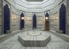 Turkish Hammam at Six Senses Spa at Kempinski Hotel in Bodrum, Turkey